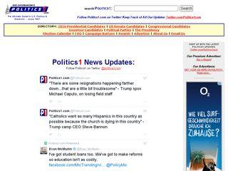 Preview of politics1.com