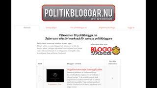 politikbloggar.nu