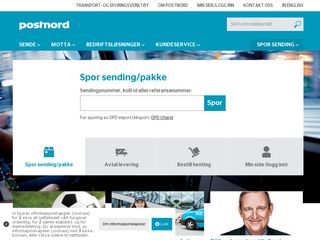 Preview of postnord.no