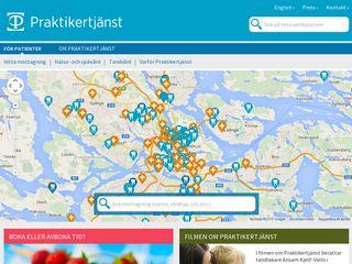 Preview of praktikertjanst.se
