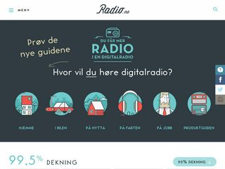 Preview of radio.no