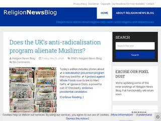 Preview of religionnewsblog.com