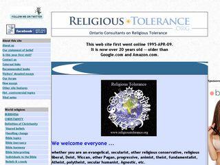 religioustolerance.org