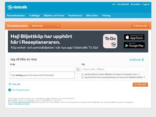 reseplanerare.vasttrafik.se