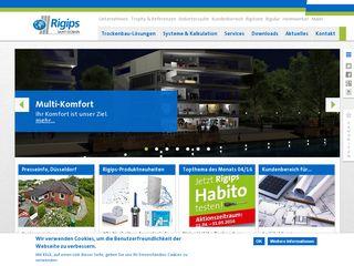 Preview of rigips.de