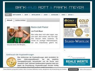 Earlier screenshot of rottmeyer.de