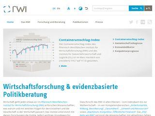 Preview of rwi-essen.de