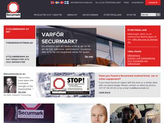 Preview of securmark.se