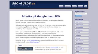 seo-guide.se