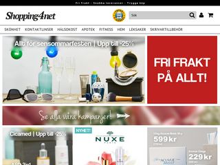 Preview of shopping4net.se