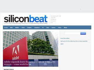 Preview of siliconbeat.com