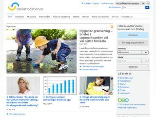 Preview of skolinspektionen.se