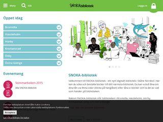 snokabibliotek.se