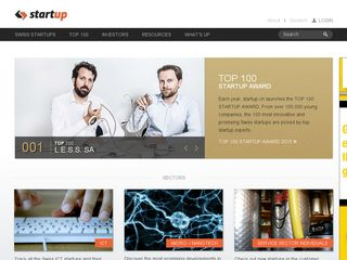 Preview of startup.ch