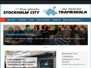 stockholmcitytrafikskola.se