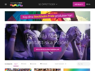 Preview of stockholmpride.org