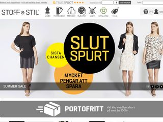 Preview of stoffochstil.se