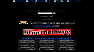 Preview of stopthecrime.net