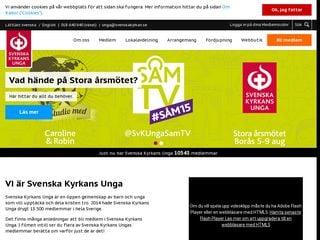 svenskakyrkansunga.se