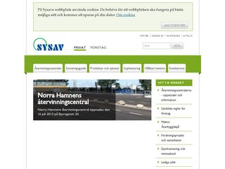 Preview of sysav.se
