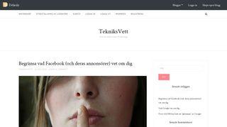 tekniksvett.delacay.com