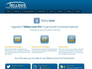 Preview of telldus.se