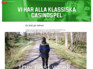 Earlier screenshot of thispastweek.blogg.se