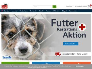 Preview of tierschutz-shop.de