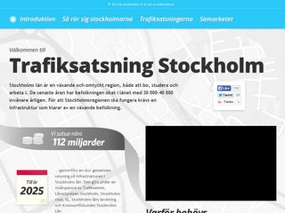 trafiksatsningstockholm.se