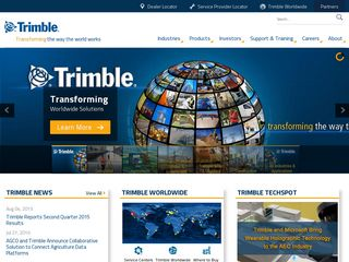 Preview of trimble.com