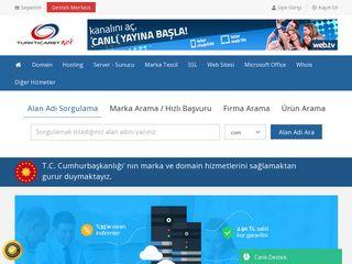 Earlier screenshot of turkticaret.net