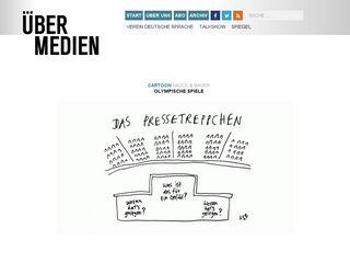 Preview of uebermedien.de