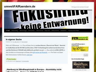 Preview of umweltfairaendern.de