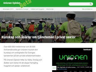 unionenopinion.se