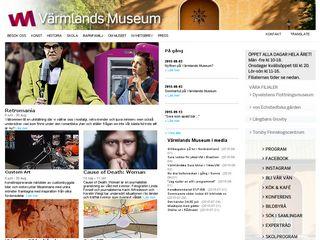 Preview of varmlandsmuseum.se