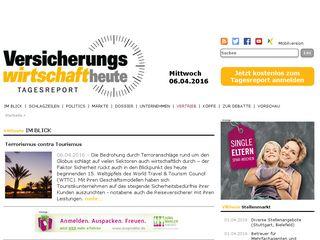 Preview of versicherungswirtschaft-heute.de