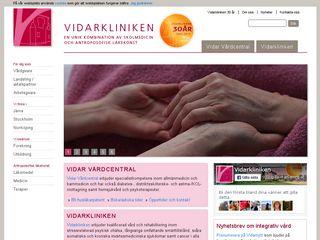 vidarkliniken.se