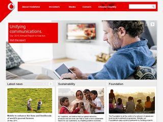Preview of vodafone.com