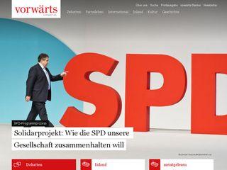 Preview of vorwaerts.de