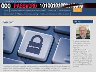 webbsakerhet.se