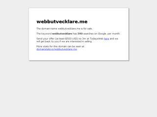webbutvecklare.me