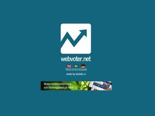 webvoter.net