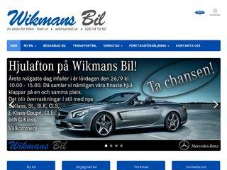 wikmansbil.se