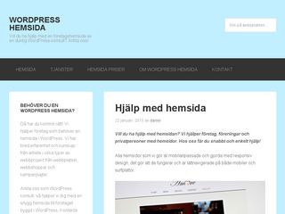 wordpress-hemsida.nu