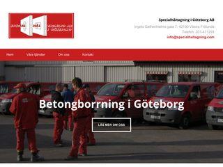 Earlier screenshot of betongborrninggöteborg.se
