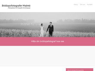 bröllopsfotografermalmö.se