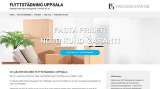 flyttstädninguppsala.net
