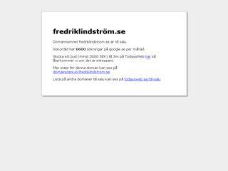 fredriklindström.se