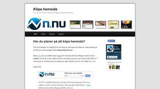 Earlier screenshot of köpahemsida.net