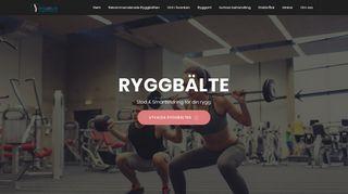 ryggbälte.com